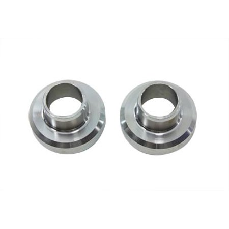 Zinc Fork Neck Cup Set with Races,for Harley Davidson,by V-Twin Fork Cup Set