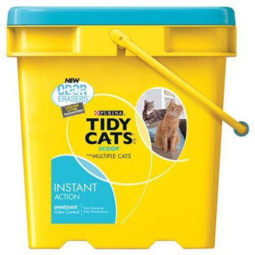 Instant Action Clumping Cat Litter 27-Pound Pail (Pack of 1), Ship from America
