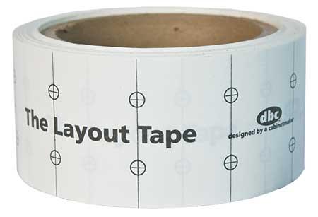 Fast Cap Layout Tape Measure, LAYOUTTAPE by FAST CAP
