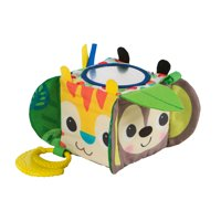 Bright Starts Hide & Peek Block Take-Along Activity Toy, Ages 3 months +