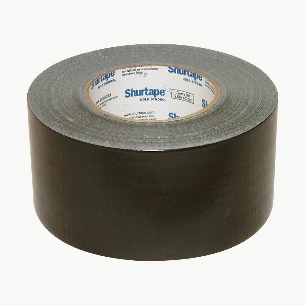 Shurtape PC-600 General Purpose Grade Duct Tape: 3 in. x 60 yds. (Black)