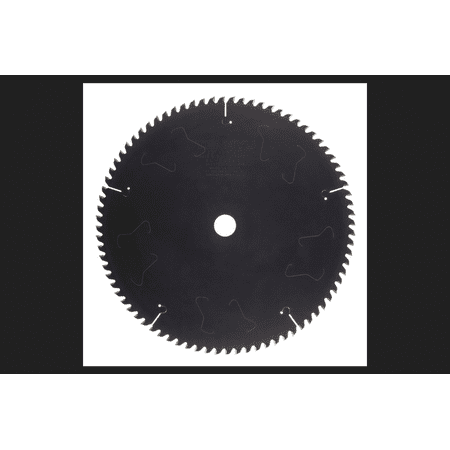 Tenryu 12 in. Dia. x 1 in. PTFE Coated Silencer Series Saw Blade 80 teeth 1