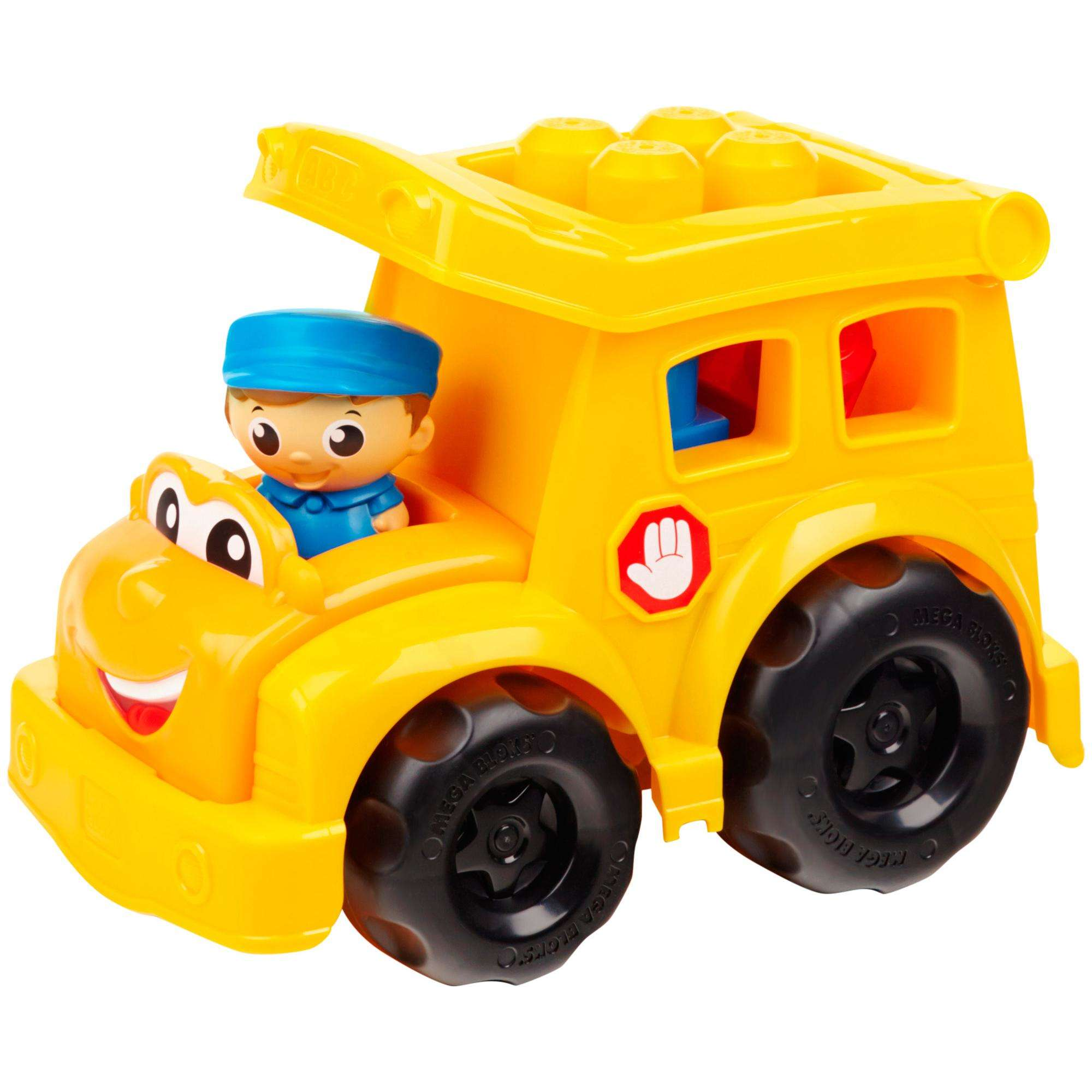 Mega Bloks First Builders Lil' Vehicles Sonny School Bus