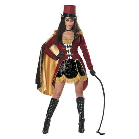 Halloween Women's Dazzling Ringmaster Costume