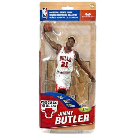 new arrivals 3d818 50a3a McFarlane NBA Sports Picks Series 28 Jimmy Butler Action Figure [White  Jersey]