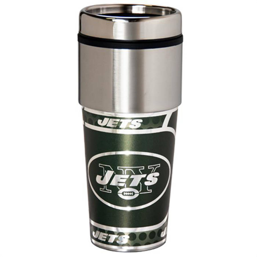 NFL New York Jets Stainless Steel Tumbler