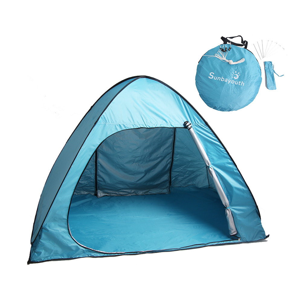 Sunbayouth Pop Up Tent Portable C&ing Tent for 3 person Outdoor Automatic Beach Tent  sc 1 st  Walmart & Sunbayouth Pop Up Tent Portable Camping Tent for 3 person ...