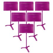 Manhasset Model #48 Symphony Music Stand, 6-Pack - Purple