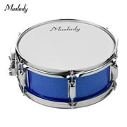 Muslady 12inch Snare Drum Head with Drumsticks Shoulder Strap Drum Key for Student Band