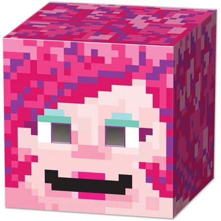 Adults 8-Bit Box Head Gamer Girl Character Costume Accessory Overhead Mask - Gamer Costume Ideas