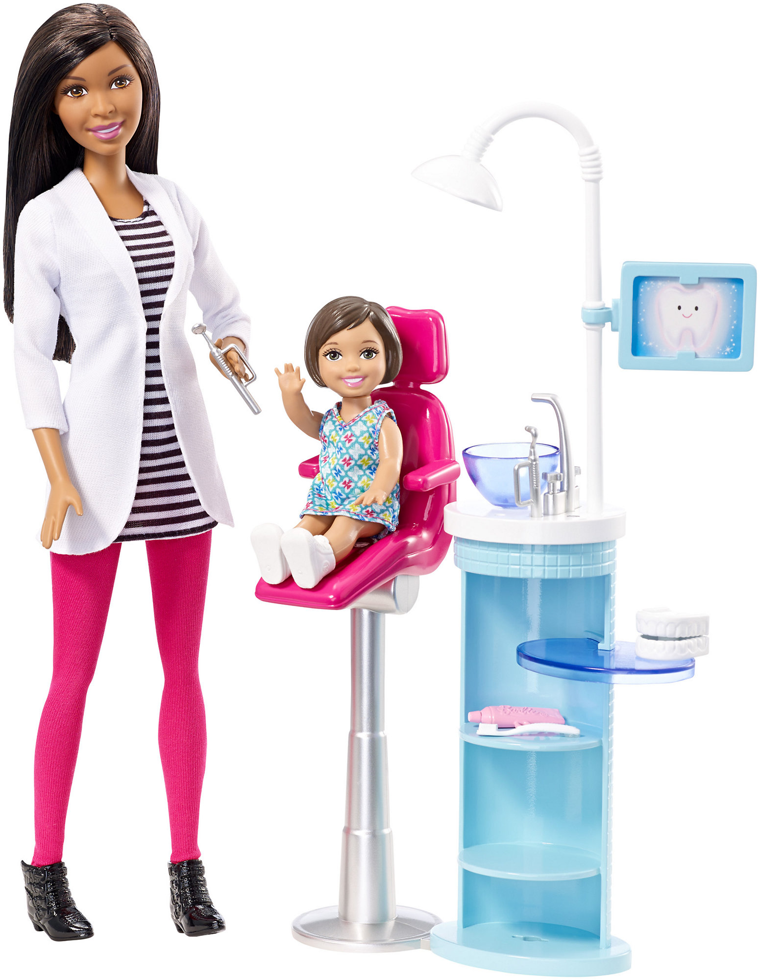 Barbie Dentist Doll & Playset by Mattel