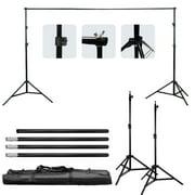 Ktaxon 10x6.5ft Adjustable Background Support Stand Photo Studio Backdrop Crossbar Set