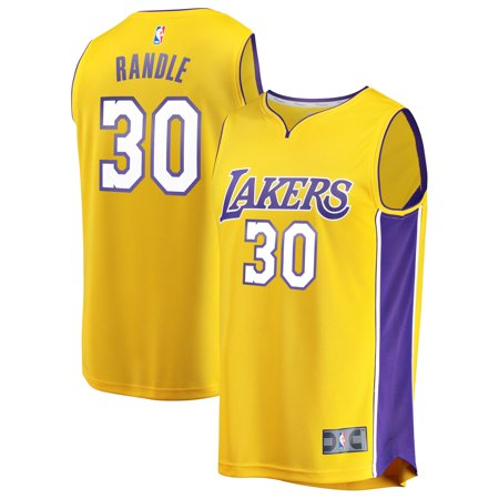 new product ac56c 431a6 Julius Randle Los Angeles Lakers Fanatics Branded Fast Break Replica Jersey  Gold - Icon Edition
