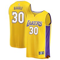 Julius Randle Los Angeles Lakers Fanatics Branded Fast Break Replica Jersey Gold - Icon Edition