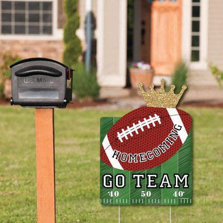 Homecoming - Party Decorations - Football Themed Welcome Yard Sign