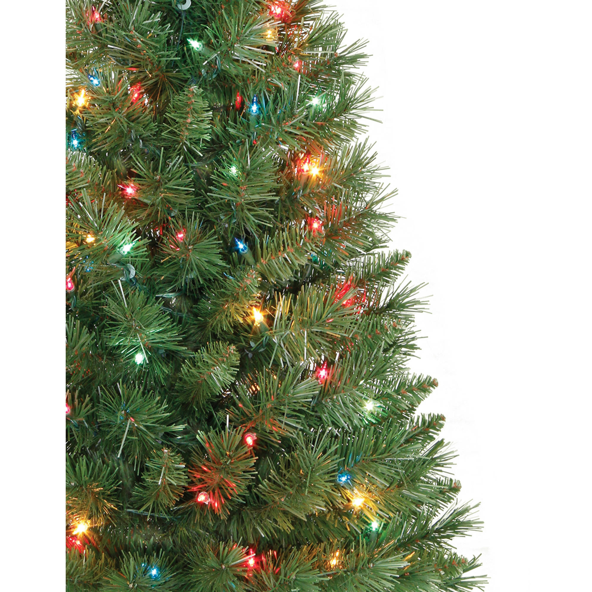 Holiday Time Pre-Lit 3\' Winston Pine Artificial Christmas Tree ...