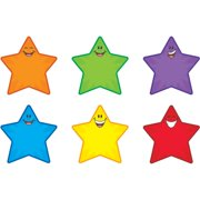 Trend, TEPT10907, Smiling Stars Accents, 36 / Pack, Assorted