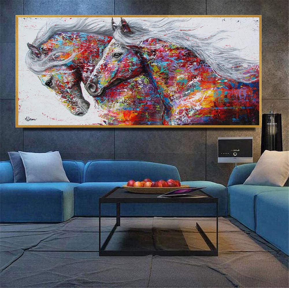 Animal Canvas Wall Art Abstract Picture Home Decoration Poster Painting No Frame