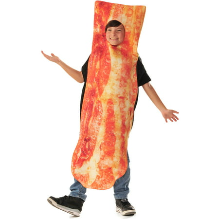 Photo Real Children's Bacon Costume for Kids - Size - Bacon Costume Kids