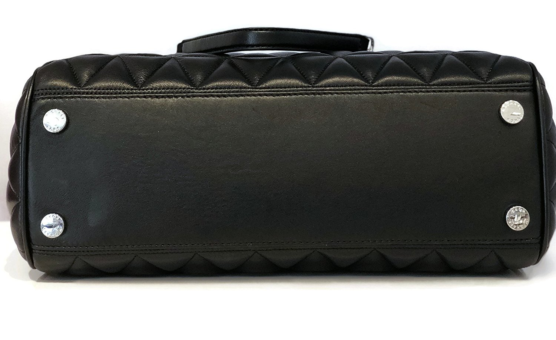 d595a5b5cced MICHAEL Michael Kors Vivianne Susannah Large Tote Soft Leather Handbag -  Black - Walmart.com