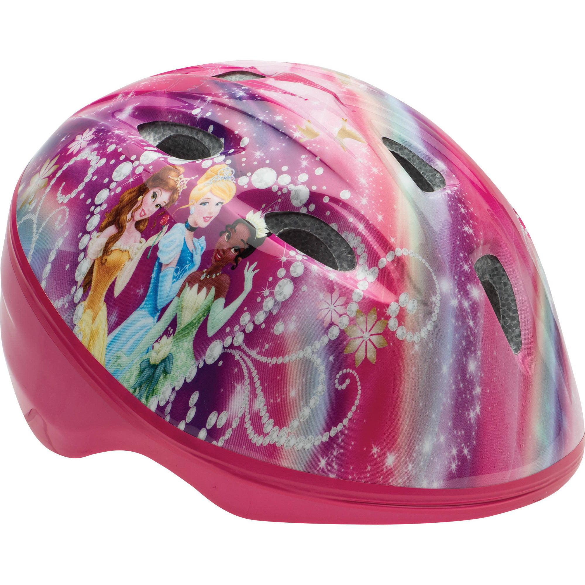 Bell Disney Princesses Rule Bike Helmet, Pink/Purple, Toddler 3+ (48-52cm)