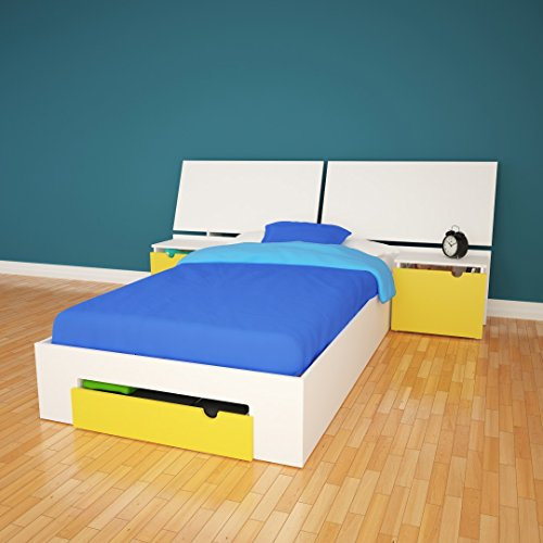 Nexera 400585 Taxi Twin Bed Kit Storage Bed - Box A