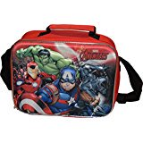 Marvel Avengers Deluxe 3D Characters Insulated Lunch Box