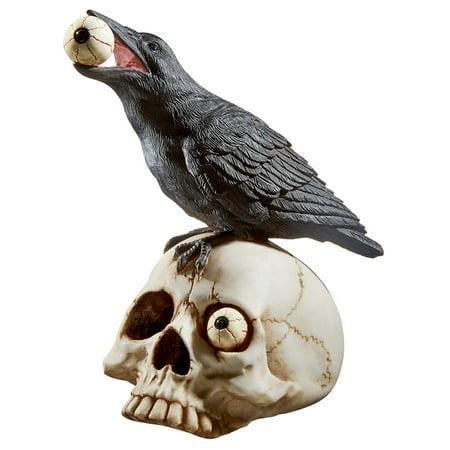 All Seeing Harbinger Of Doom Raven - Raven's Halloween Haven