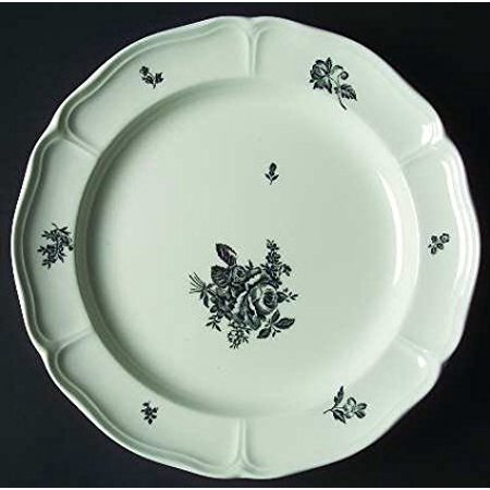 Earthenware Plates - LUDLOW BLACK DINNER PLATE 11.0
