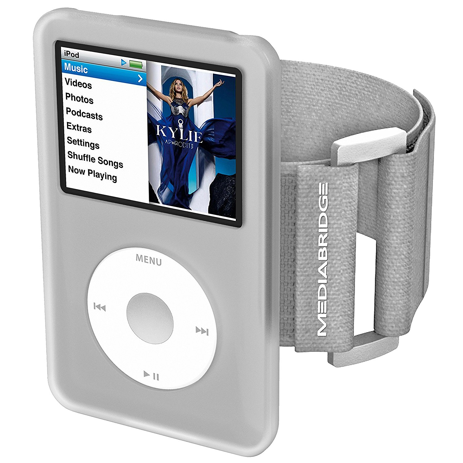 mediabridge armband for ipod classic 7th generation clear model ab1 ...