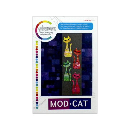 Colourwerx Mod Cat Pattern - Cat Halloween Costume Pattern