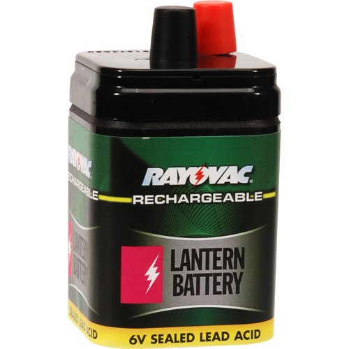 Rayovac 6V Rechargeable Battery
