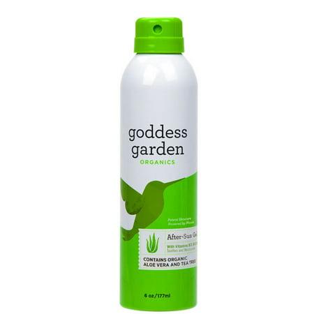Goddess Garden After-Sun Gel with Aloe Vera, Continuous Spray, 6 Ounce