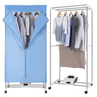 Finether Electric Clothes Dryer Portable Wardrobe Machine Drying Camping RV Dorm Apartment Folding Efficient New Clothes Heater Remote Control