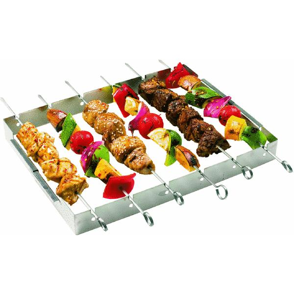GrillPro Kebab Grill Rack With Skewer