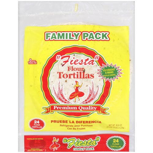 "Fiesta Flour 10"" Tortillas, 24 ct, 45.6 oz"