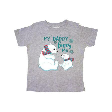 Polar Bear Outfit (My Daddy Loves Me- cute polar bears Toddler)