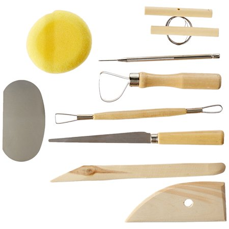 Alvin & Co. CS260 POTTERY TOOL KIT 9pc SET, Basic tools for the professional By Heritage Arts From USA