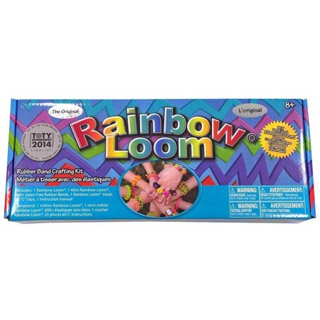 Rainbow Loom Bands with Metal Hook - Loom Bands Van Halloween