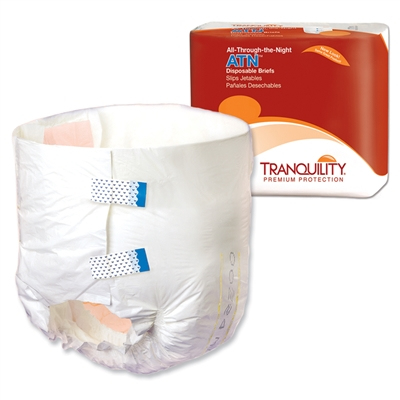 Tranquility ATN (All-Through-the-Night) Overnight Brief, LARGE, 2186 - Case of 96