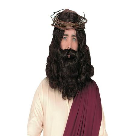 Jesus Wig With Beard - image 1 de 1