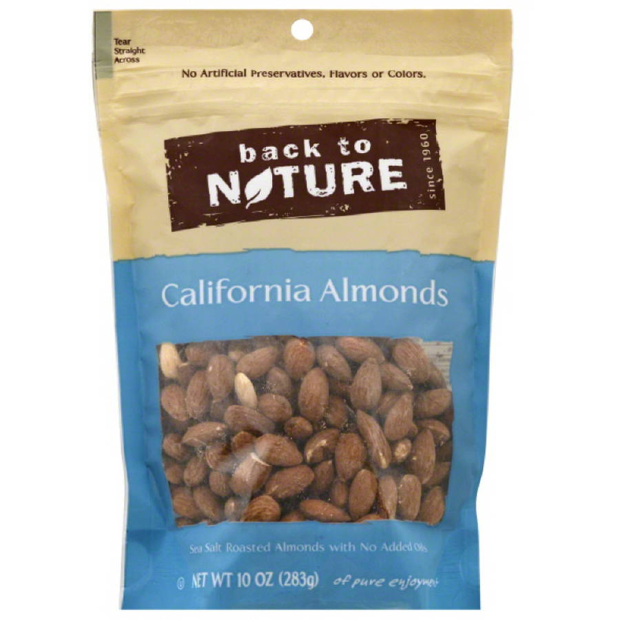 Nut Almond L R, 10 Oz (pack Of 9)