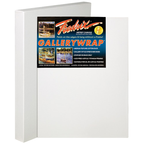 Fredrix Gallerywrap Stretched canvas (Set of 12)