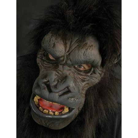 Go-Rilla Latex Mask Adult Halloween - Gorilla Mask For Sale