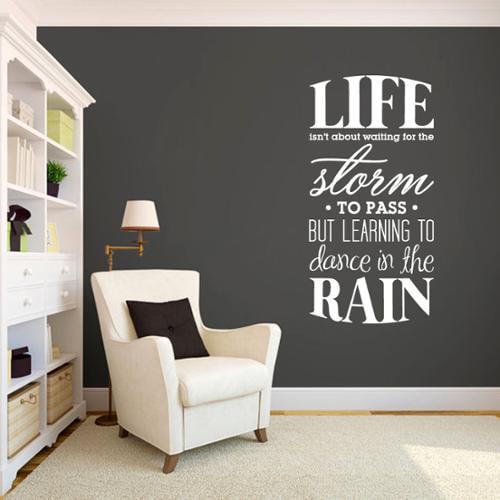 Learning to Dance in the Rain (24-inch x 48-inch) MOCHA