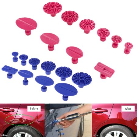 Cam Repair Kit - Paintless Dent Repair Removal Remover Tools Kits 24 Pro Glue Tabs Car Auto Body Hail Dent Remover Set