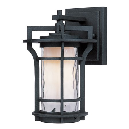 Wall Sconces 1 Light Bulb Fixture With Black Oxide Finish Die Cast Aluminum Material Medium Bulbs 6 inch 60 Watts ()