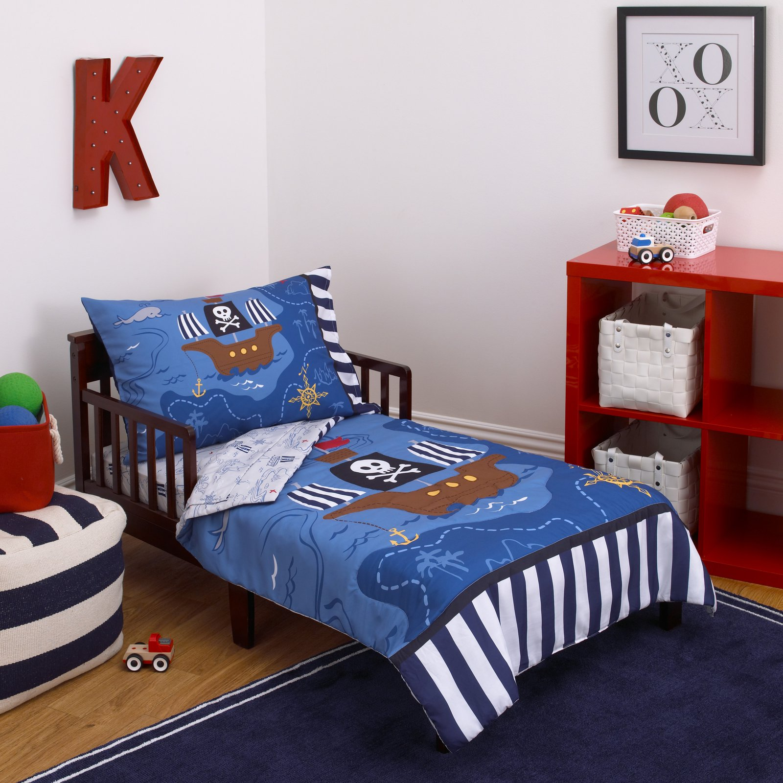 Little Tikes Pirate 4-Piece Toddler Bedding Set