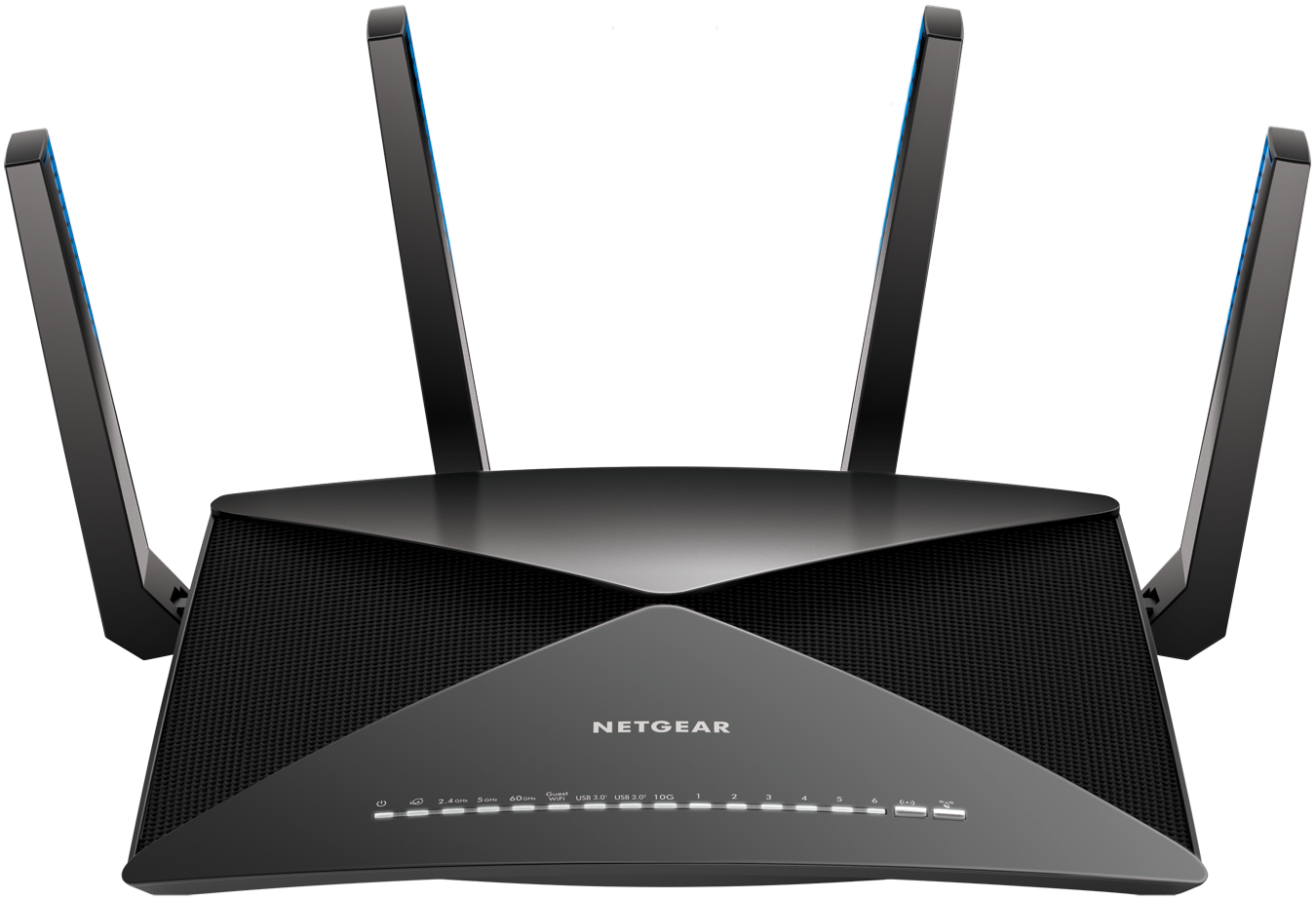 NETGEAR Nighthawk X10 AD7200 Plex Tri Band Smart WiFi Router (R9000-100NAS)