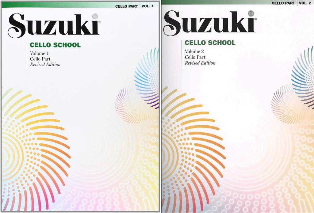Suzuki Cello School Cello Part, Volume 1 & 2 (Revised) by Alfred Publishing